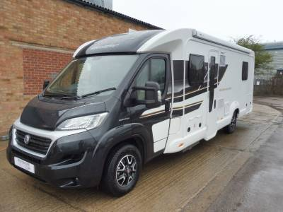 Swift Bessacarr E599 4 berth island bed automatic motorhome for sale