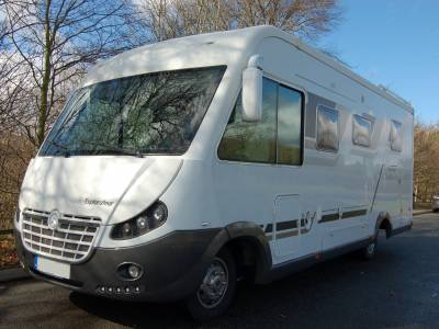2012 Pilote Explorateur G743 Diamond Edition Mercedes 3.0 Automatic Class motorhome