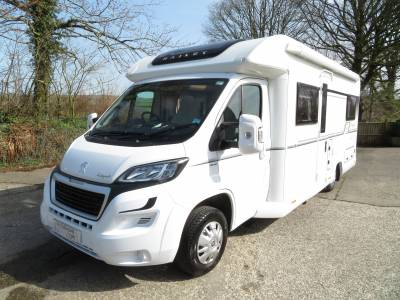 Bailey Autograph 75-4, 2017, 4 Berth, 4 Travelling Seats