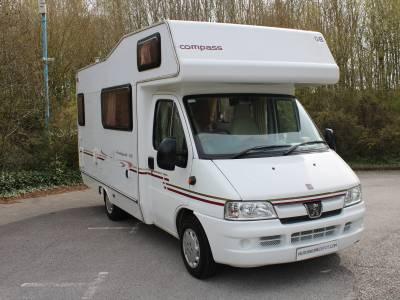 Compass Avantgarde 300 4/5 berth end kitchen coachbuilt motorhome for sale