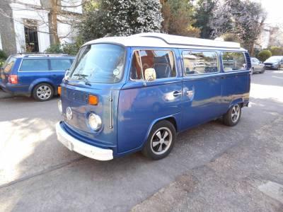 Volkswagen T2 3 Berth camper