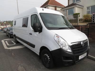 Vauxhall Movano, 4 Berth Campvan