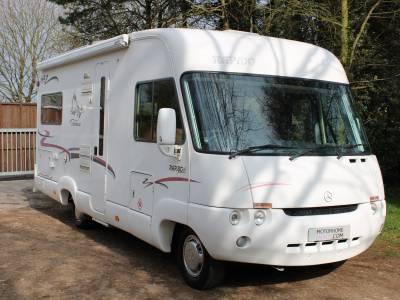 Rapido Le Randonneur 985M 4 berth fixed rear bed A-Class motorhome for sale