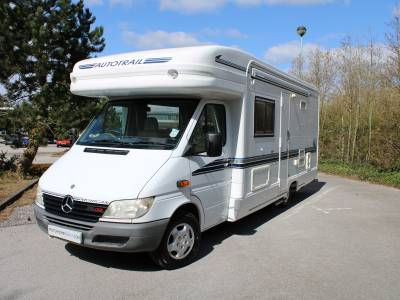 Autotrail Mohican 2 berth central dinette rear washroom low profile motorhome for sale