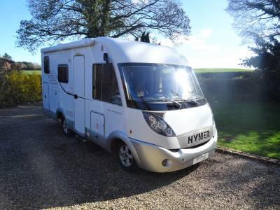 Hymer B504CL A Class Rear Fixed Bed Centre Dinette Motorhome Camper Van For Sale