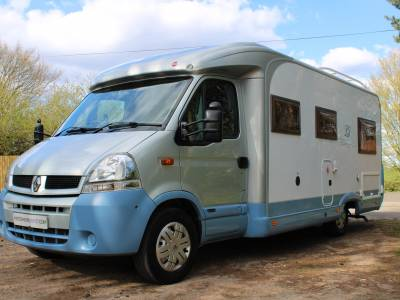 Burstner Delfin T686 4 berth rear fixed bed coachbuilt Motorhome for sale