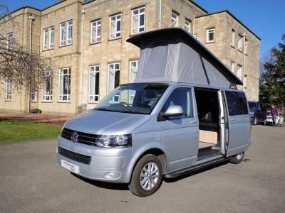 VW T5 Transporter, LWB, 4-Berth. 4-Seatbelts Campervan for Sale