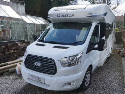 Chausson Welcome 616 6 Berth Family Motorhome