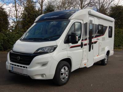 2016 Swift Rio 340 4 berth low profile motorhome with rear door