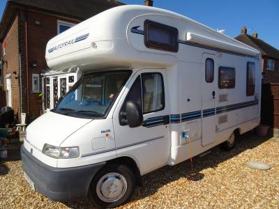 Auto-Trail Cheyenne 634 rear L shaped lounge over cab bed 4 berth 4 belt coach built motorhome for sale