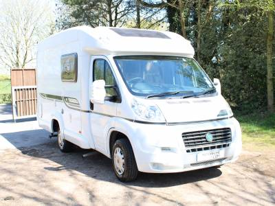 Bessacarr E510 2 berth end kitchen compact lowline motorhome for sale