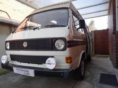 Classic Volkswagen Autosleeper T25 4 Berth Hi Top Camper Van For Sale