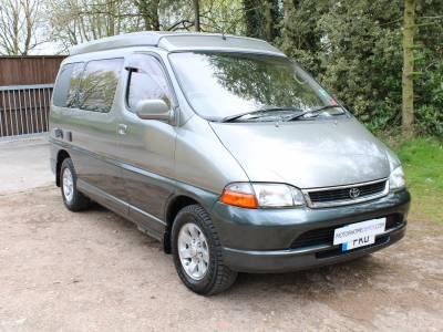 Toyota Granvia Automatic 4 berth compact camper van for sale
