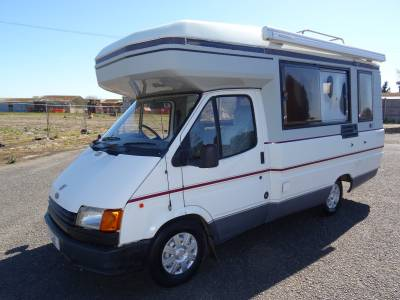 Auto-Sleepers Amethyst 4 berth 4 belt end kitchen side bench monocoque body motorhome for sale