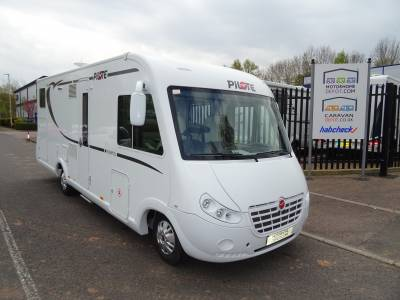 Pilote G740 A-Class 4 berth Rear Fixed Bed motorhome for sale