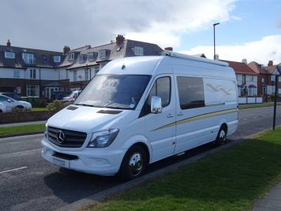 Mercedes Sprinter 313, 2014, 2 berth motorhome for sale