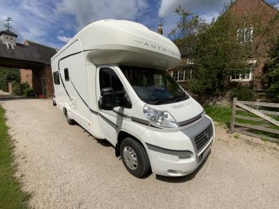 Autotrail Apache 634 U Luxury 4 Berth Motorhome For Sale