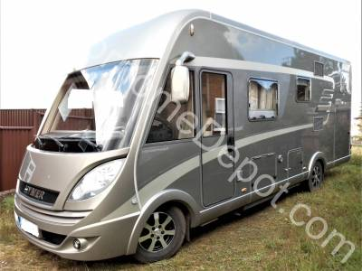 Hymer B 674 SL - A-Class, LHD, Automatic, Solar Panel, Cab air con, Satellite System, Large Garage