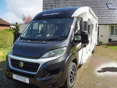 Bessacarr 599 4 berth fixed rear bed motorhome for sale