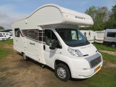 Swift Esprit 464 2014 4 Berth Motorhome For Sale Low Mileage