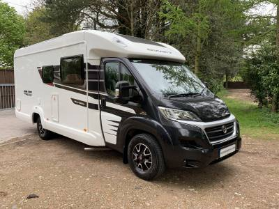 Swift Bolero 684FB 4 berth rear french bed coachbuilt motorhome for sale
