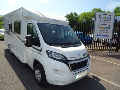 Elddis Autoquest 155 4 berth Rear Fixed French bed motorhome for sale