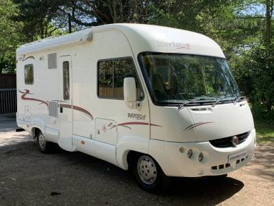 Rapido 946F A-Class 4 berth rear fixed bed motorhome for sale`