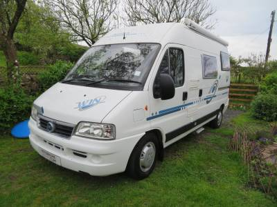 Adria Twin, 2004, Rear Fixed Bed, 3 Berth, 4 Travelling seats