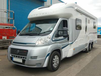 2012 Autotrail Frontier Commanche AUTOMATIC fixed bed motorhome