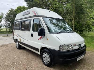 Autosleeper Symbol 2 berth Centre dinette campervan motorhome for sale