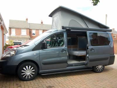 2013 Peugeot Expert Teepee 2 berth pop top campervan