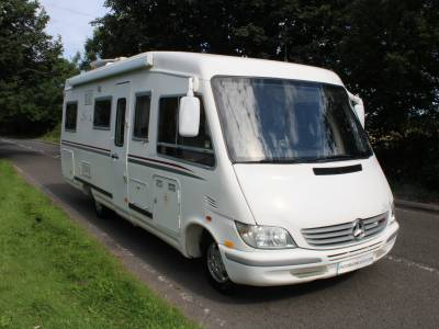 Le Voyager LVX Automatic  A-Class 4 berth motorhome for sale