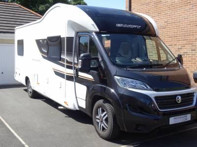 Bessacarr 596 - 2019 - 6 berth - U shaped lounge motorhome for sale
