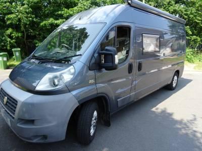Nu Venture Caletta 2007 2 Berth Rear Kitchen and Rear Washroom Camper Van For Sale