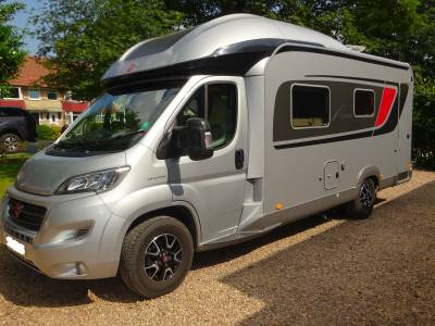 Burstner Ixeo 680g 2018 Automatic 2 Berth 4 Belts Motorhome For Sale  **PRICE REDUCED**