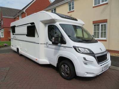 Bailey Autograph 794 T, 2017, 4 Berth, 4 Travelling Seats