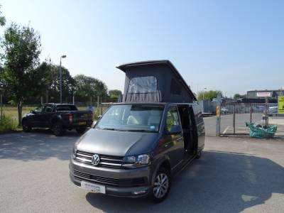 Volkswagen T6 Kahuna conversion pop top 4 berth 5 belt campervan for sale