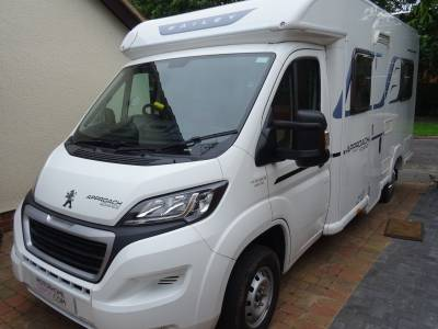 Bailey Approach Advance 640 2015 4 Berth Rear fixed bed