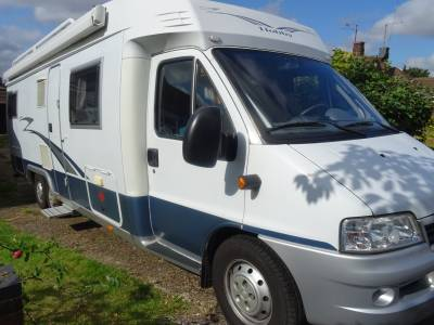 Hobby 700 2007 4 Berth Rear Fixed Bed Motorhome For Sale
