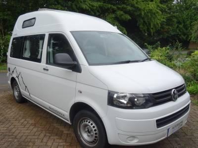 VW Transporter T28 TDi 2014 2 berth 4 Seatbelt Conversion Camper Van