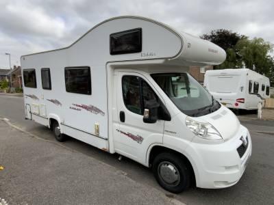 Elddis Sunquest 180 6 Berth 6 Seatbelt Rear Lounge Motorhome For Sale