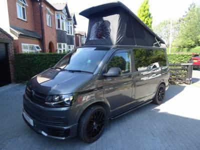 Volkswagen Denby Camper Van 4 Berth 5 Travel Seats Rock and Roll Bed Motorhome Camper Van For Sale