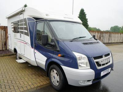 Hymer Van 512, 3-Berth, 4-Seatbelts, End Fixed Bed, Motorhome for Sale