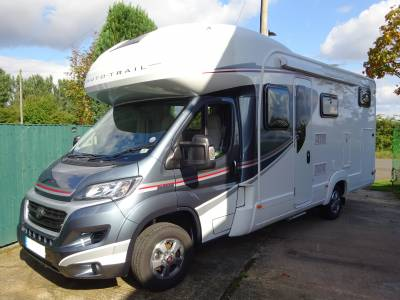 Autotrail Tribute 736g 2019 6 berth 4 Belt Fixed Bed Large Garage Motorhome for sale