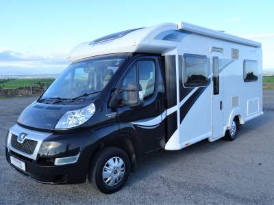 Bailey Approach Autograph 740- 2014- 4 Berth - Rear Fixed Bed - Motorhome for sale