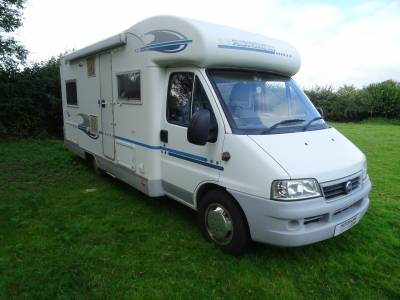 Adria Coral 650 SP - 4 Berth - 4 Seatbelt - Fixed French Bed - Low Mileage Motorhome For Sale
