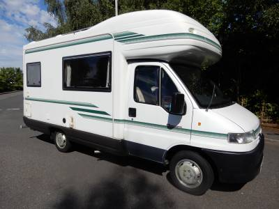 Auto Sleeper Pescara 1999 4 Berth End Kitchen Motorhome For Sale