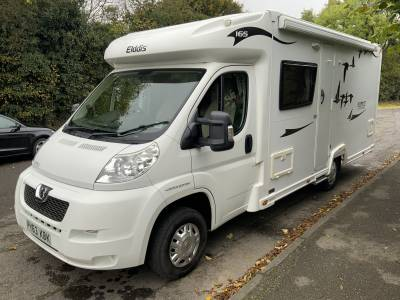 Elddis Autoquest 165 Dumfries Flyte II Special Edition 4 Berth Rear Fixed Bed Motorhome For Sale