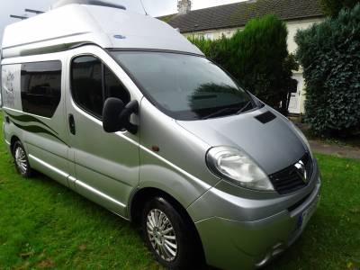 Vauxhall Vivaro 2.0 CDTi 2008 2 Berth Hi Top Camper Van For Sale