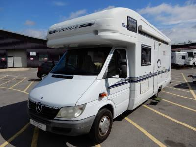 Auto Trail Mohican 2001 4 Berth End Washroom Motorhome For Sale